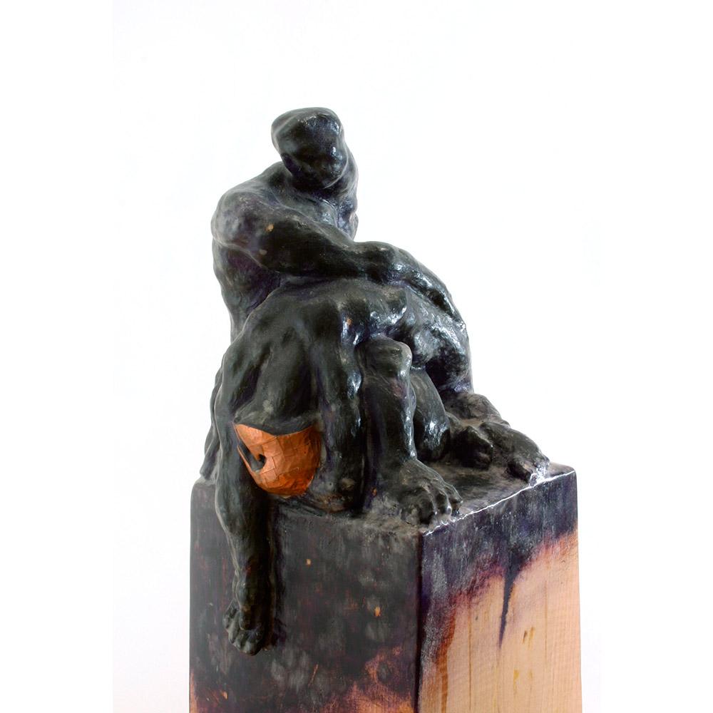 Purple Pieta, 1997