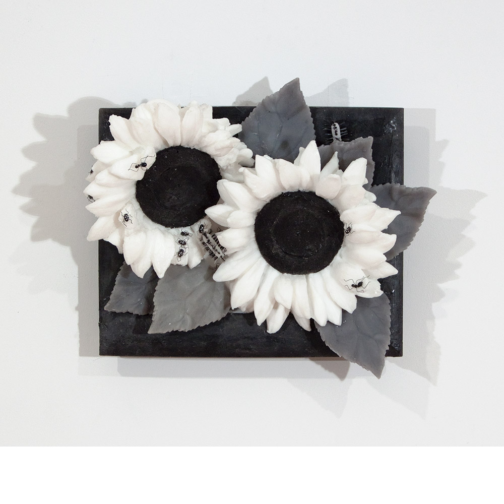 <em>Two Sunflowers,</em> 2015
