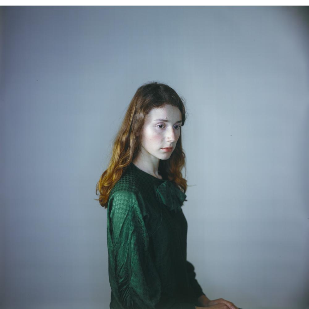 3. Tatiana in Green, 2010 *