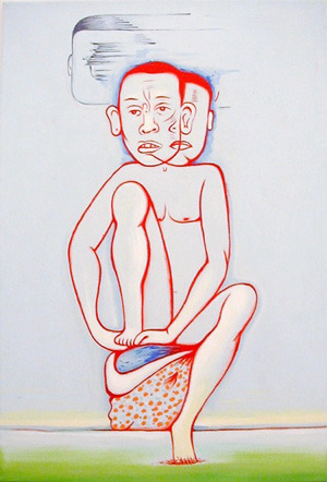 Seated 2001