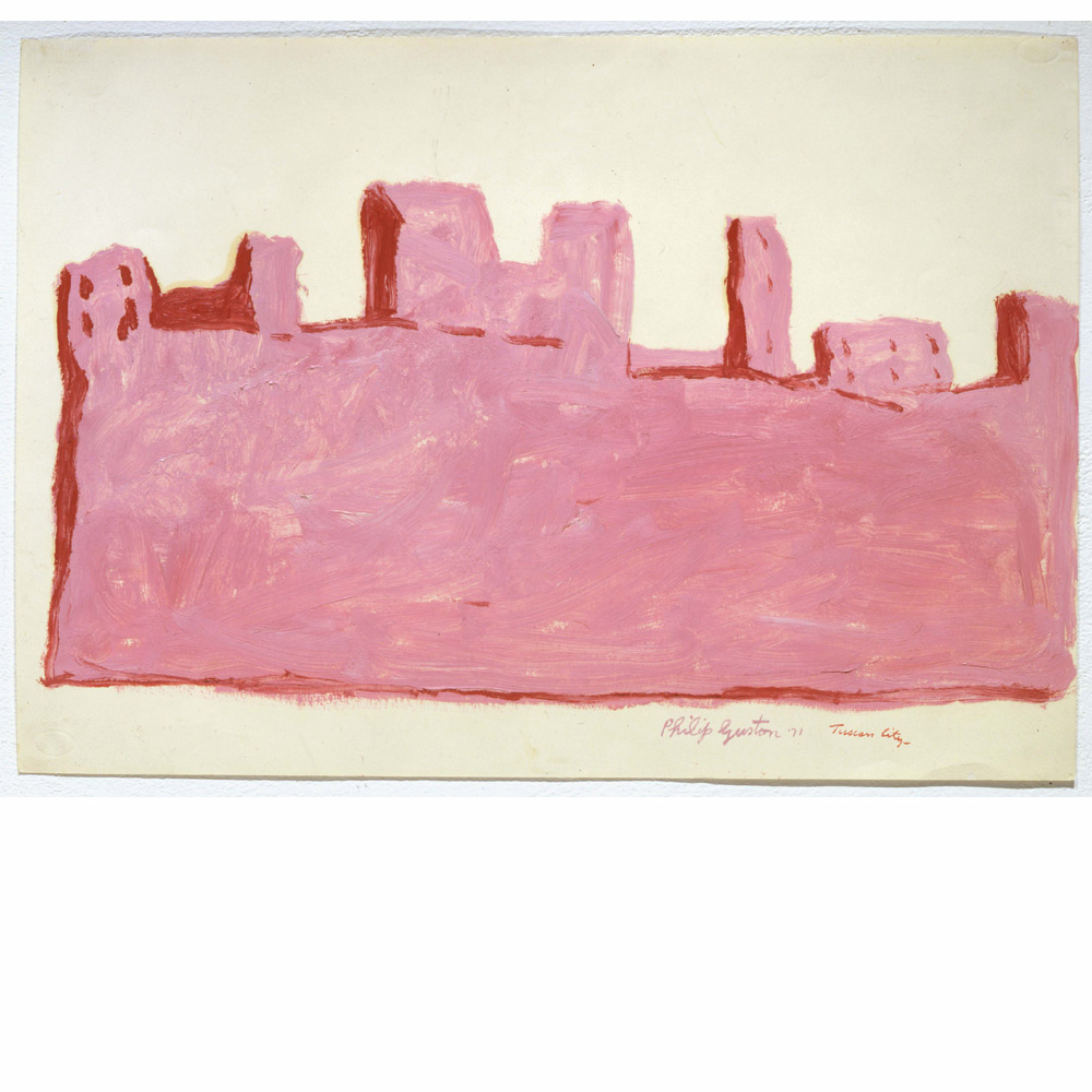 Untitled (Tuscan City) 1971