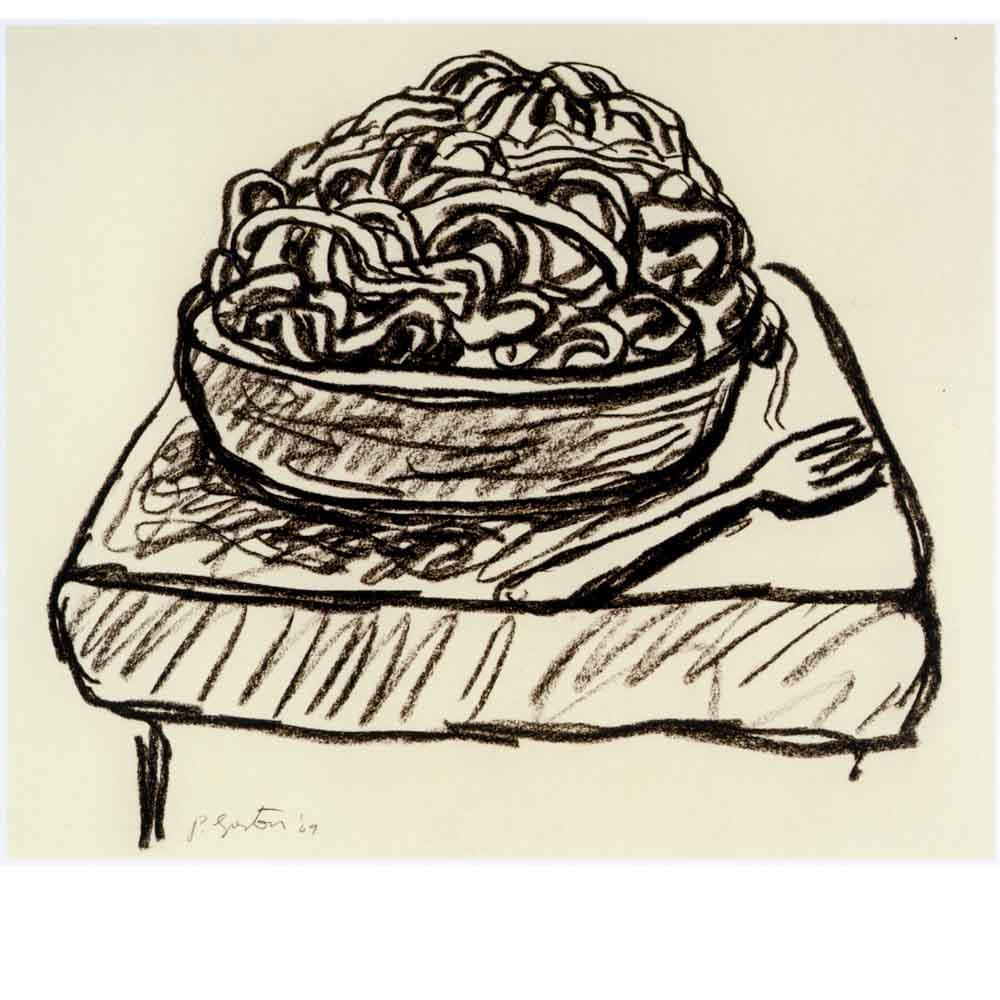 Untitled (pasta) 1969