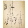 Studies for Sculptures 1956