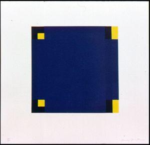 Untitled (Blue & Yellow) 1988