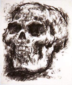 Untitled (skull) #3 2000