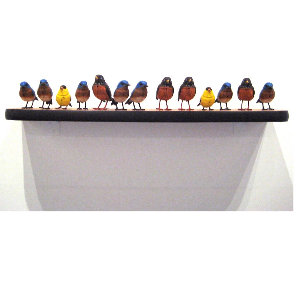 Birds Shelf (I) 2009